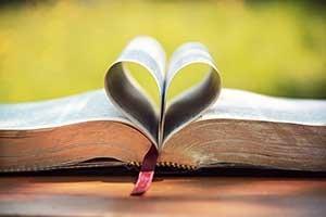 Afbeeling van een bijbel