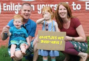 Familie foto Klaas en Dineke